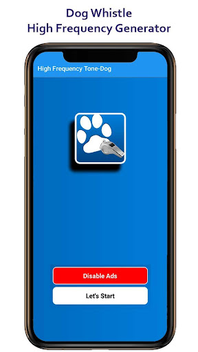 High Frequency Tone Dog App Report on Mobile Action - App