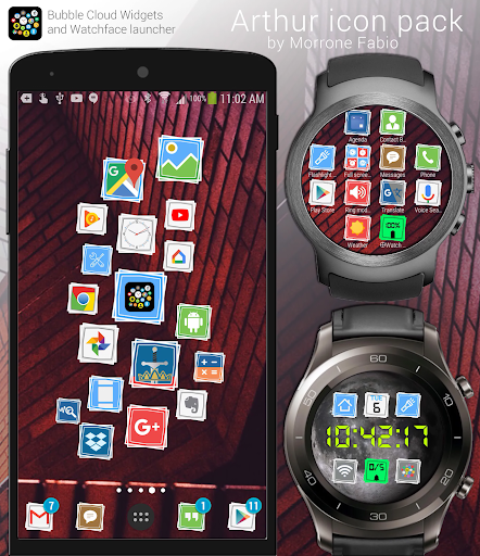 Arthur Icon Pack App per Android screenshot