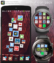 لالروبوت Arthur Icon Pack تطبيقات screenshot