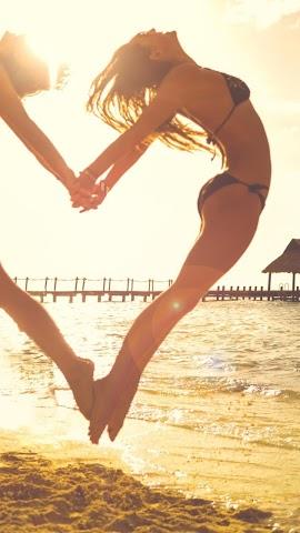 android Sea holiday.Beach.Wallpaper Screenshot 0