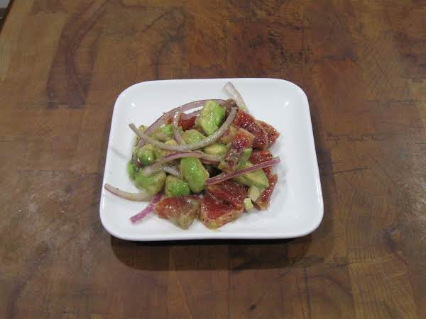 Blood Orange, Avocado, And Red Onion Salad Recipe
