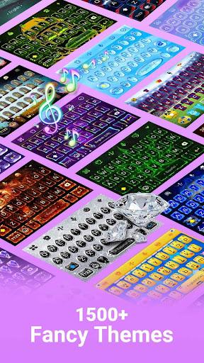 Facemoji Emoji Keyboard - Cute Emoji,Theme,Sticker 2.1.4.1 screenshots 4