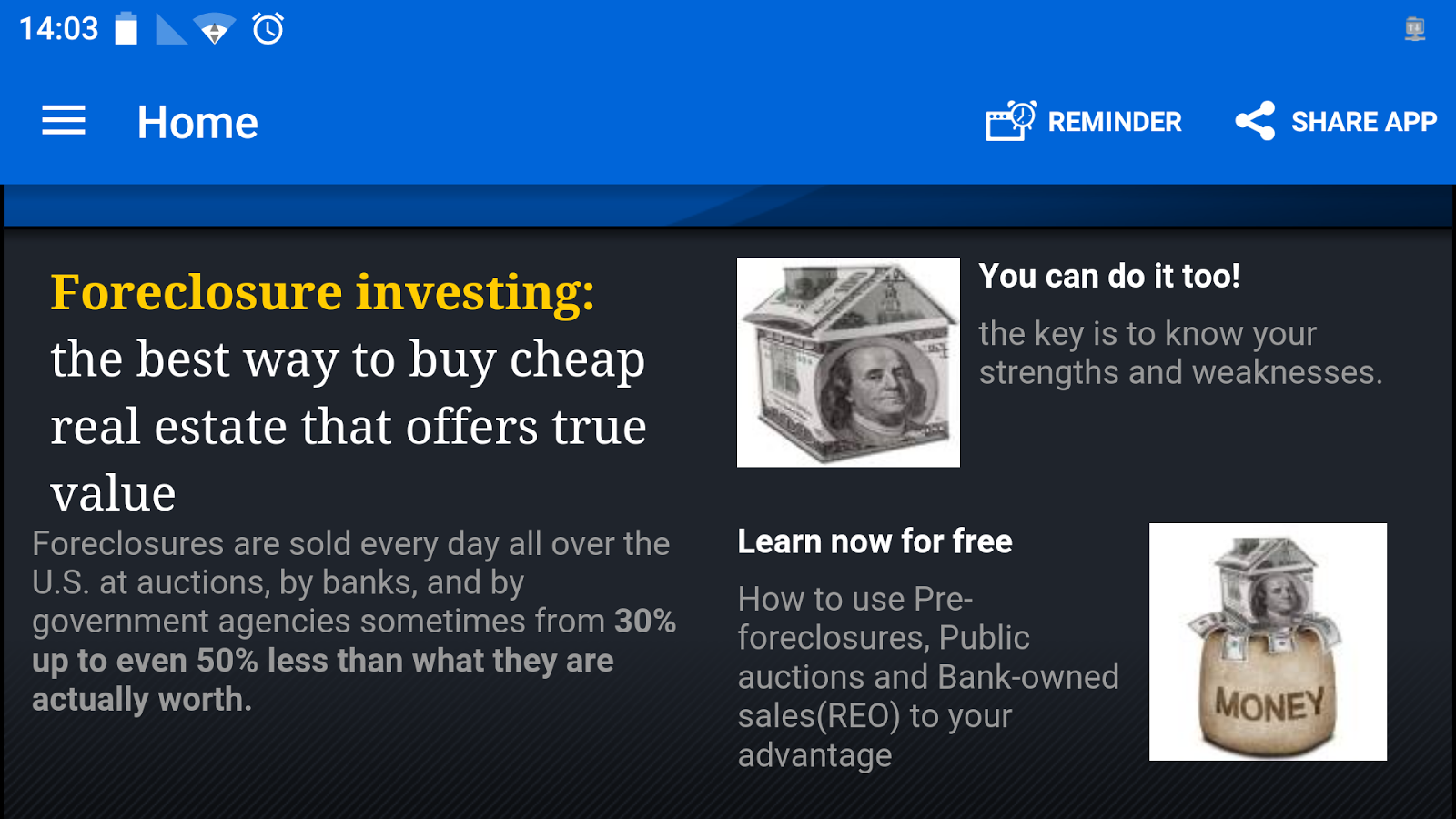 Foreclosure Investing course- screenshot