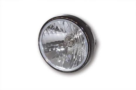 7-tums Reno 2 med LED-ring, svart