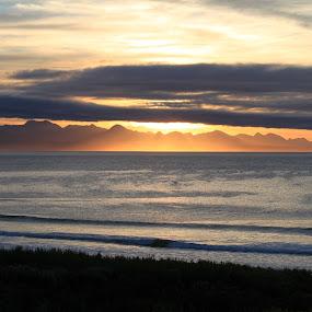 Sunrise at Plettenberg Bay by Isak Meyer - Landscapes Sunsets & Sunrises