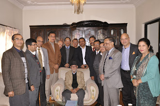 Photo: Meeting with Nepali Congress Chairman