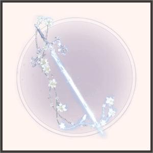 凛とした花