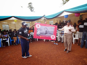 Photo: Area Chief and Kangemi-Tano