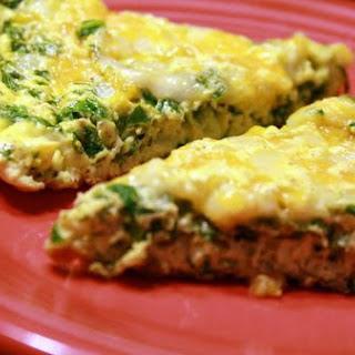 Spinach-Cheese Frittata.