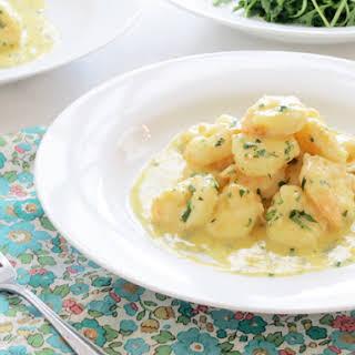 Garlic Prawns In White Sauce Recipes.