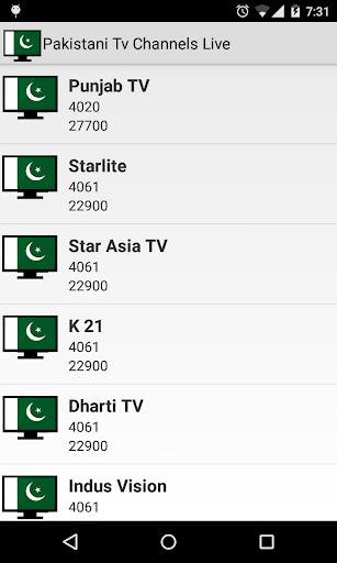 Pakistani Tv Channels Live 1.9 screenshots 7