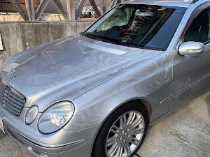 Eクラス ステーションワゴン W211 E240T 2004年式のカスタム事例画像 ユッキーカーズさんの2018年11月06日16:09の投稿