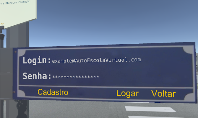 Auto Escola Virtual - screenshot