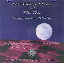 Har Haray Haree and The Test - CD av Nirinjan Kaur