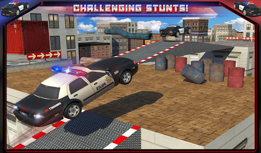 Police Car Rooftop Training screenshot 14