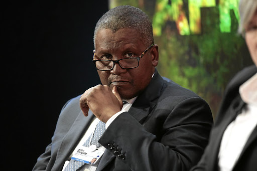 Aliko Dangote wants to transform Nigeria from a net importer of refined petroleum into 'one of the [world's] largest exporters of petroleum products by 2020'. Picture: Bloomberg/Jason Alden