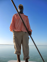 Photo: Guide Nick Leadon of the Andros Island Bonefish Club- Fall 2011