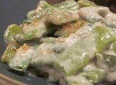 Party Green Bean Casserole Recipe