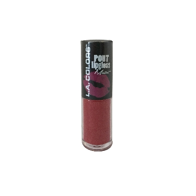 LABIAL MATE LA COLORS POUT LIPGLOSS LUSTY