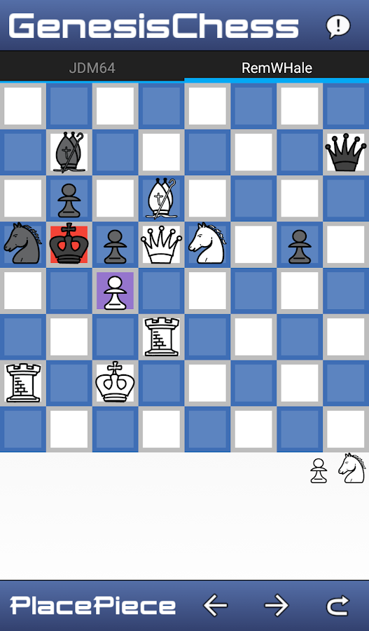 Genesis Chess- screenshot