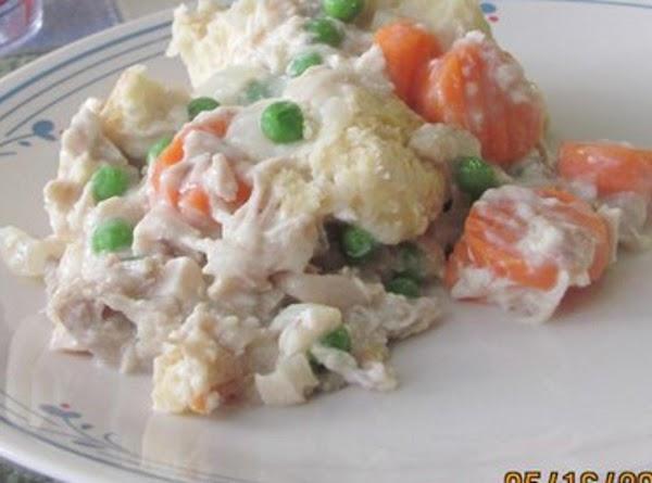 Chicken  'n' Biscuit Casserole Recipe