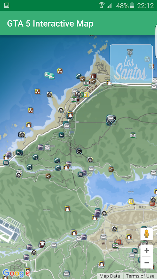 Unofficial GTA 5 Map- screenshot