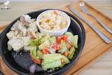 Smoko salad bar