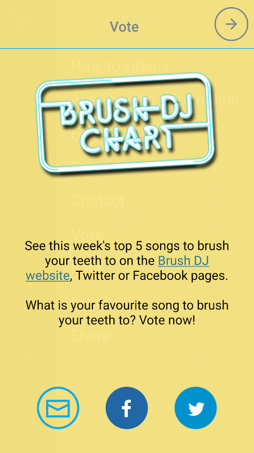 Brush DJ- screenshot