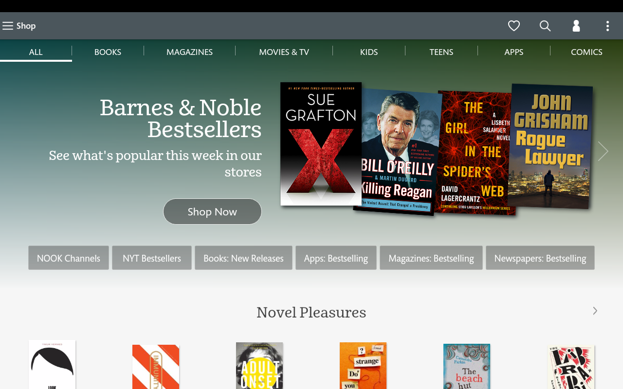 NOOK: Read eBooks & Magazines- screenshot
