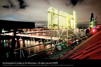 Photo: CPH NEONS self-promotional postcards  in Copenhagen, Denmark (2004) © photography by jean-marie babonneau all rights reserved www.betterworldinc.org