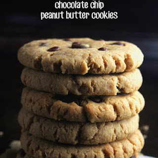 Chocolate Chip Peanut Butter Cookies.