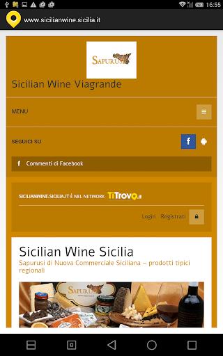 Sicilian wine Sicilia