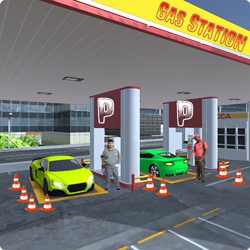 Sports Car Gas Station & Car Parking Simulator 17