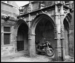 Photo: Gothic Parking :))  Rodez- France  My contribution to #breakfastclub by +Gemma Costa