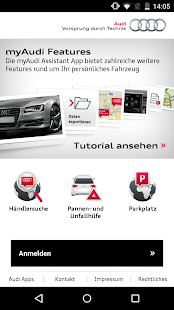 myAudi mobile assistant- screenshot thumbnail