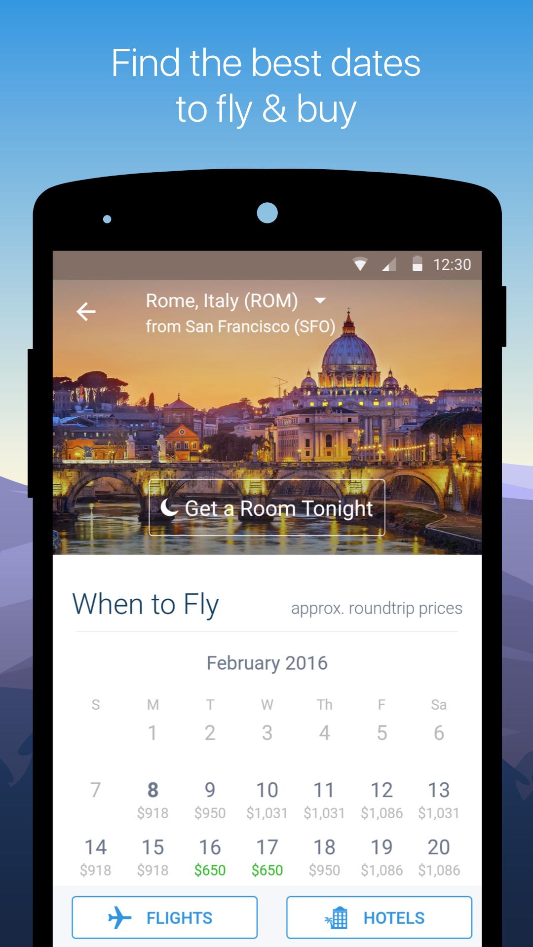 Hipmunk Hotels & Flights screenshot #2