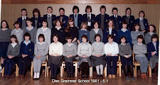 Photo: Diss Grammar School 1981 - Form 5.1 DGS Assembly Hall (Thanks - Mark Robinson)