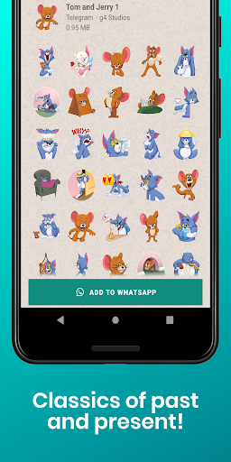 Stickers Collection for WhatsApp - WAStickerApps screenshot 7