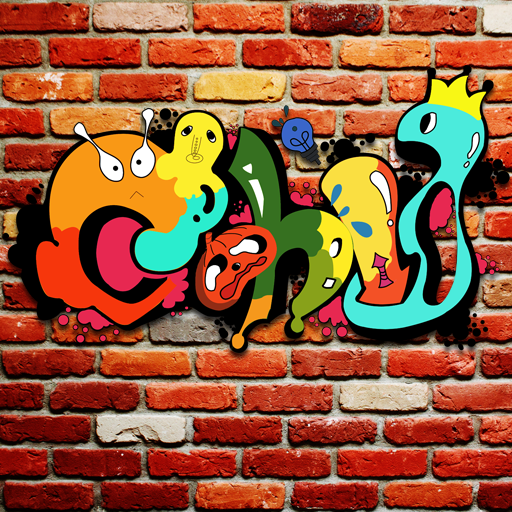 可愛的塗鴉主題(彩色塗鴉/可愛塗鴉) 漫畫 LOGO-玩APPs