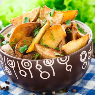 Crispy And Delicious Potato Wedges