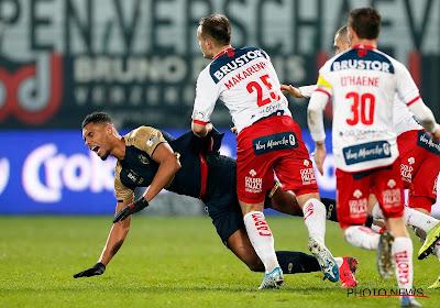 Laszlo Bölöni was tevreden over de prestaties van Abdoulaye Seck en Zinho Gano tegen KV Kortrijk