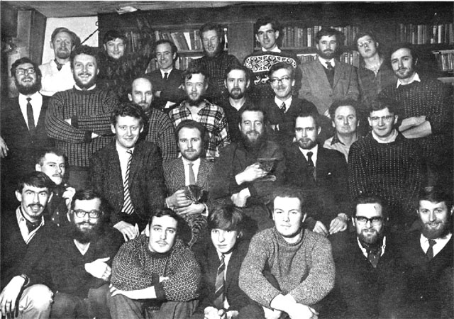Halley Bay group photo, 1966