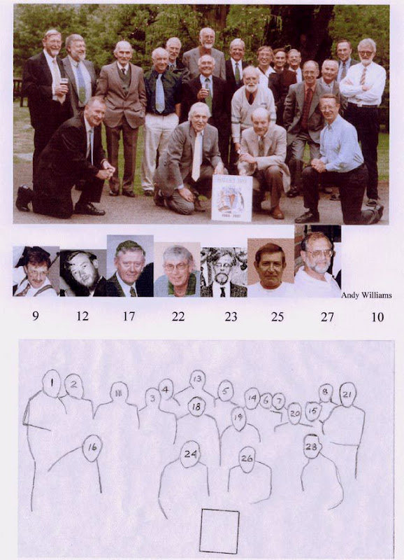 Halley Bay 1996 team: 2001 Reunion