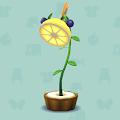 フルーツのスタンドランプ
