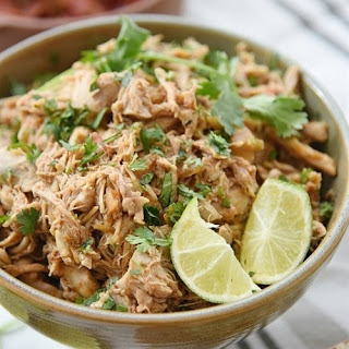 Slow Cooker Chili Lime Chicken.