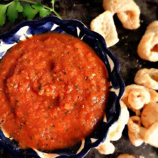 Salsa Ranchera (Roasted Tomato Salsa).