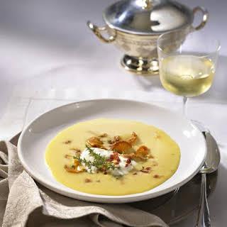 Potato and Mushroom Soup.