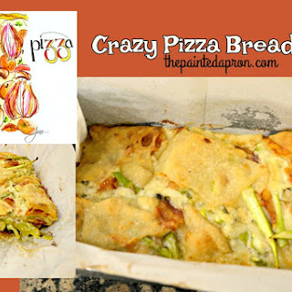 Crazy Pizza Bread Loaf.