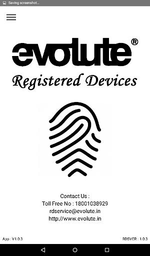 Evolute RD Service 1.0.5 com.evolute.rdservice apkmod.id 1