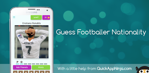 Guess Footballer Nationality APK
